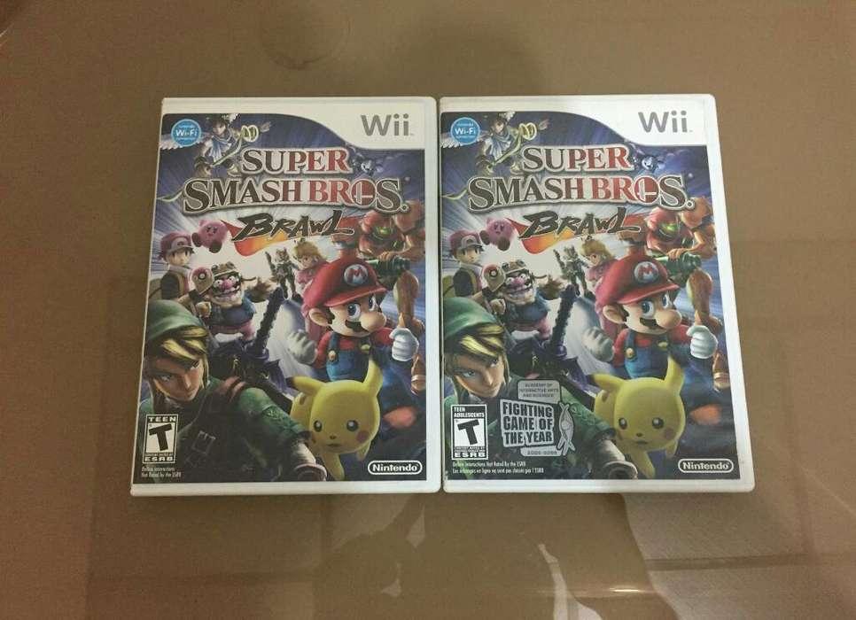 Juego Super Smash Bros Nintendo Wii