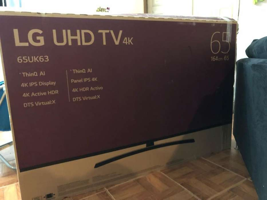 Tv Lg de 65 Pulgadas 4K Control Magic