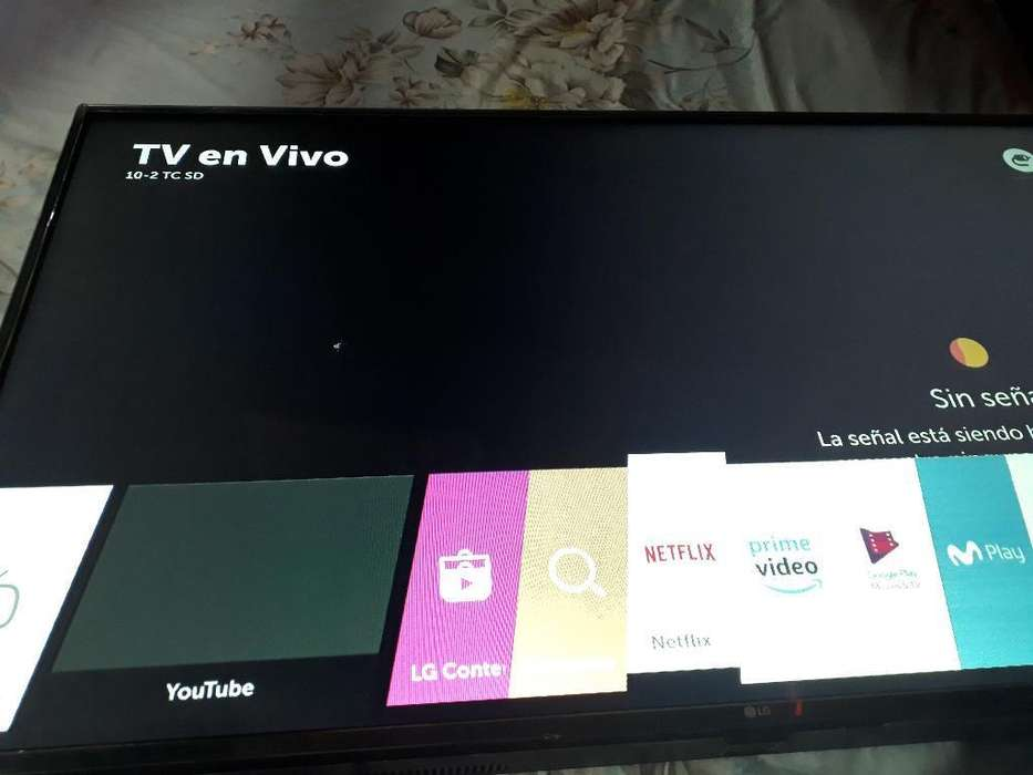 Vendo Tv de 50 Flamante con Detalle