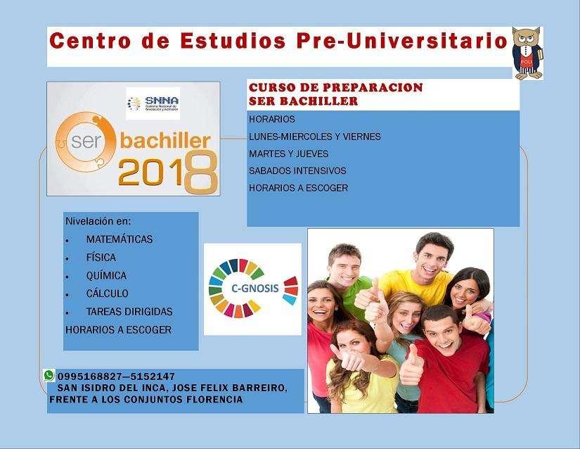 CLASES DE MATEMATICAS, FISICA, QUIMICA, ESTADISTICA, PREPARACIÓN EXAMEN SER BACHILLER. PROFESOR POLITECNICO, BMAT