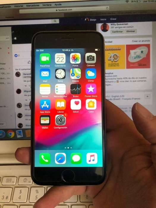 Ganga iPhone 6 32Gb Gris Perfecto Libre