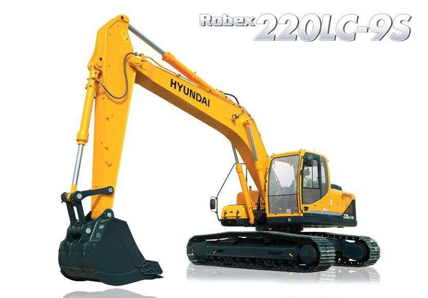 EXCAVADORA HYUNDAI R220LC-9S 20 TON