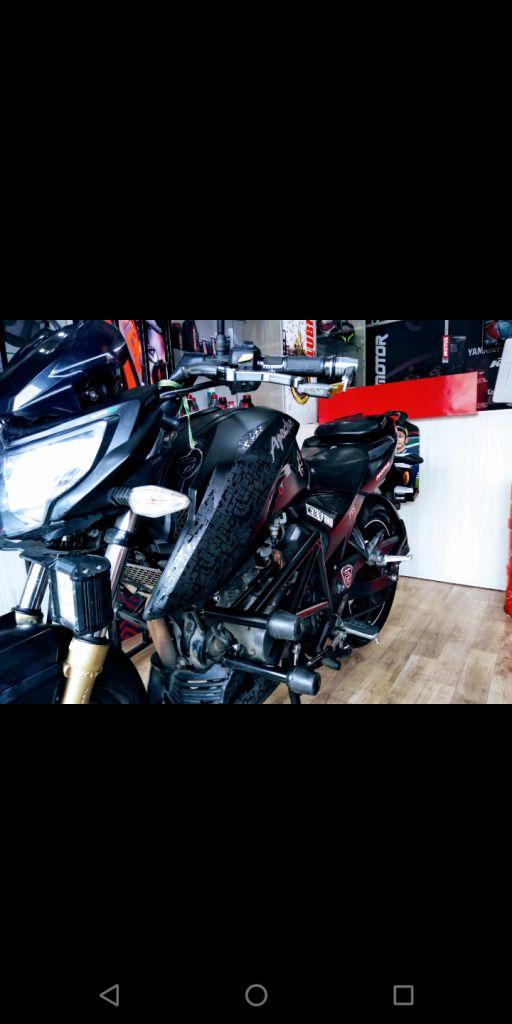 MOTOCICLETA APACHE RTR 200 EN VENTA EN CALI