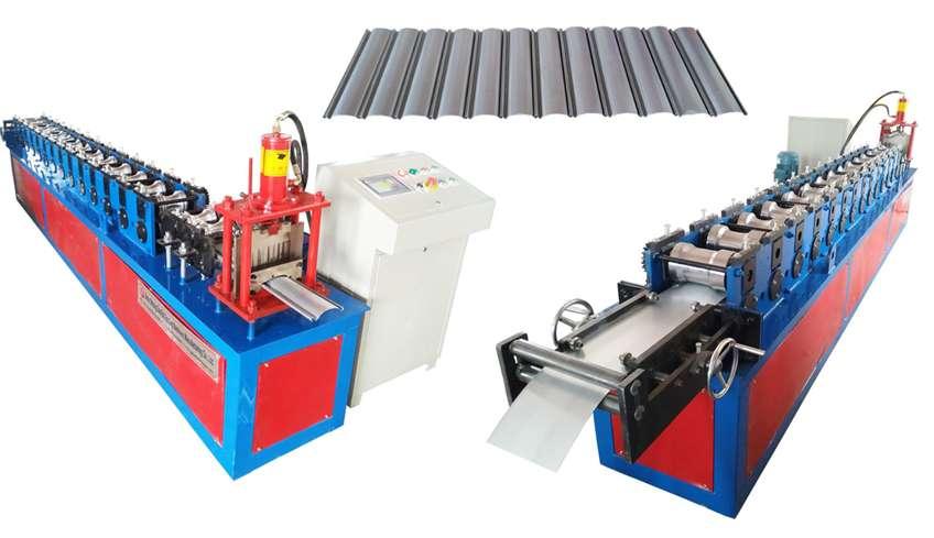 Maquinaria para fabricacion de tejas.