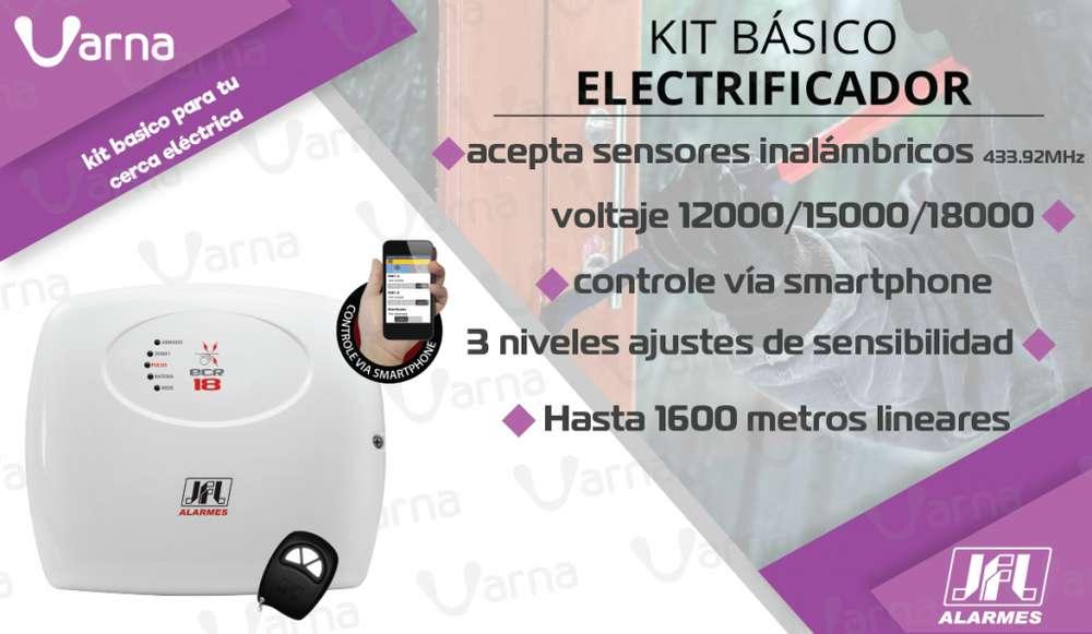 Electrificador RESIDENCIAL para cerca eléctrica