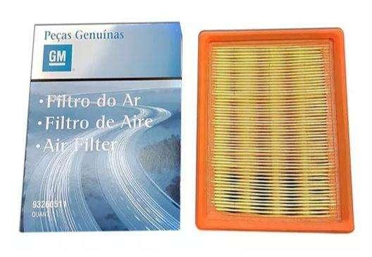 Filtro de aire Chevrolet Celta Fun Prisma Original Gm 93260511