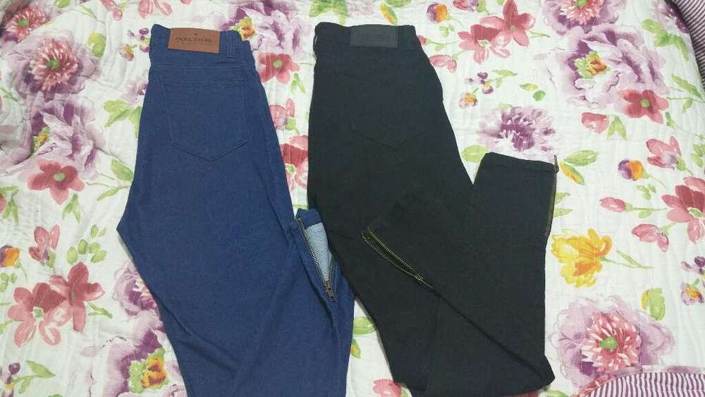 2 Jeans <strong>mujer</strong> Tiro Alto Talle 38 Nuevos