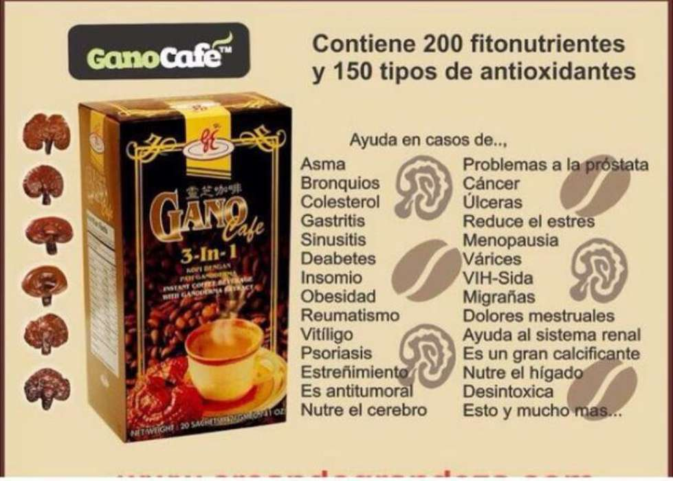 Café Saludable 3 en 1 con 200 Nutrientes
