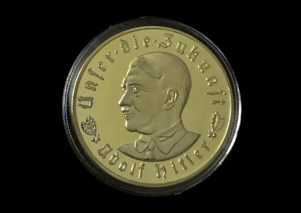 Moneda Conmemorativa Del Führer: Adolf Hitler / 1933