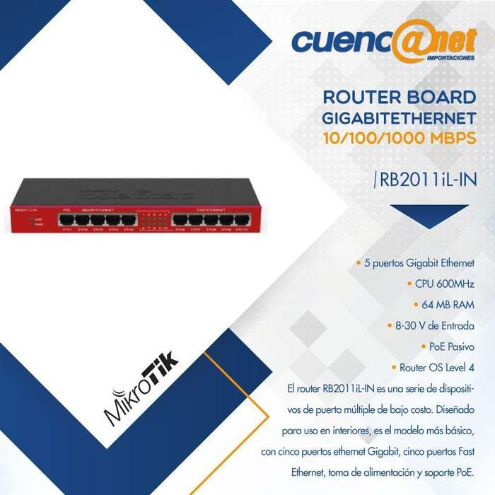 ROUTERAP RB2011ILIN WITH ATHEROS MIKROTIK