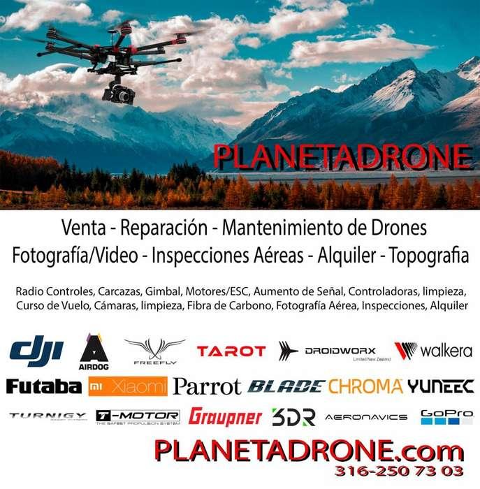 Reparación de Drone Mantenimiento Venta Phantom Mavic Alquiler Eventos Filmación Fotografía Topografía DJI