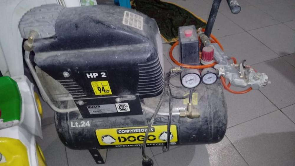 Vendo Compresor Dogo Usado de Lt.24