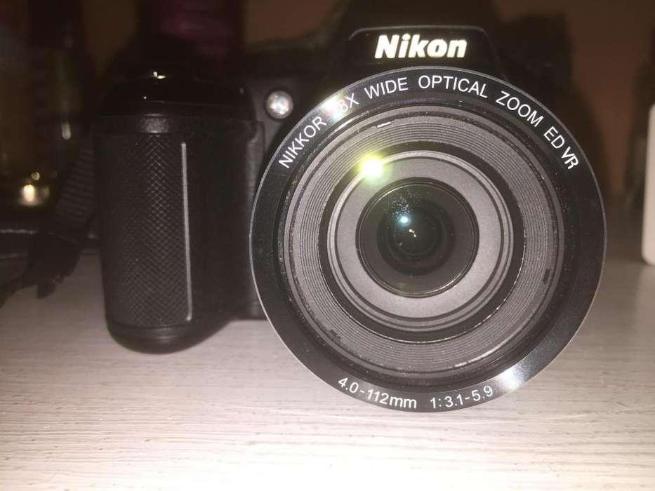 Camara Canon Cooplix L340
