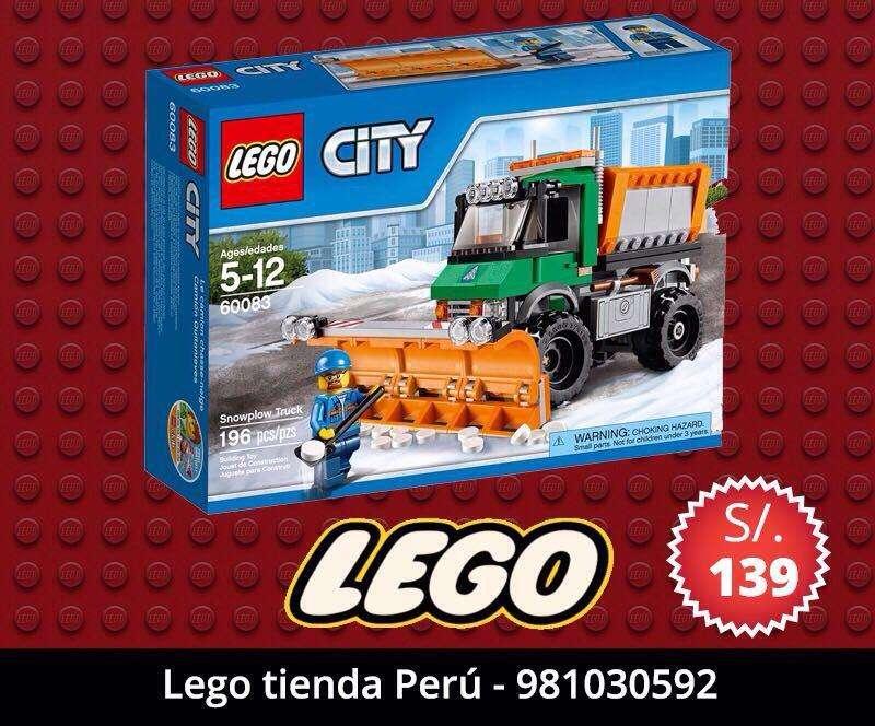 Lego City Original Camion