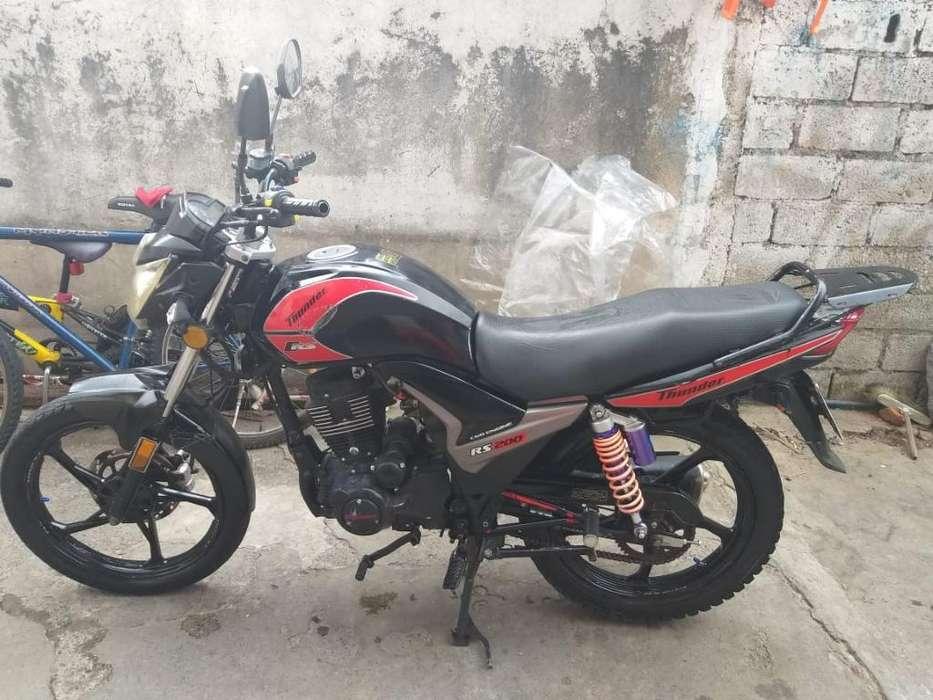 Vendo Moto Thunder