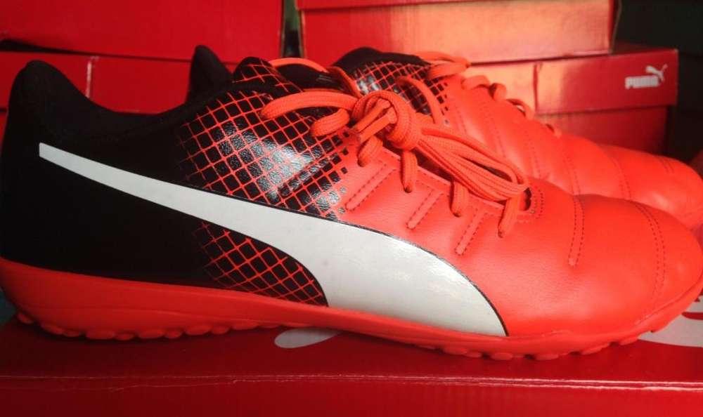 be182ab60 zapatillas puma <strong>evopower</strong> loza cesped grass futbol polera  puma