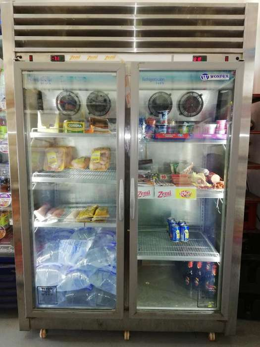 Vendo Panorámico Refrigerador-congelador
