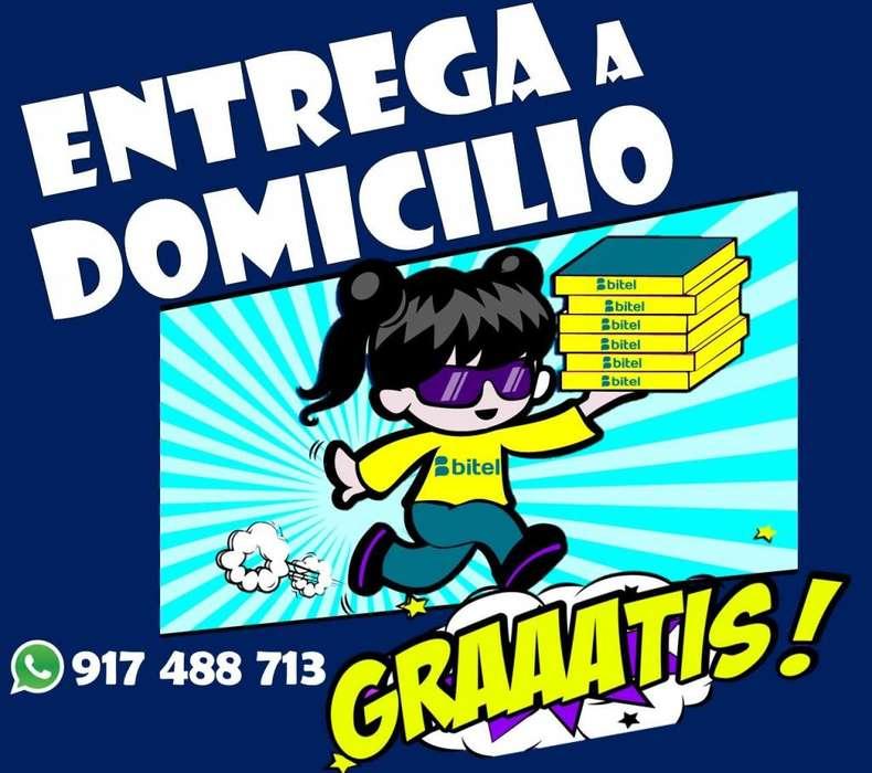 CAMBIATE A BITEL CON TU MISMO NUMERO!! DELIVERY GRATIS !! AUDIFONOS GRATIS 917488713