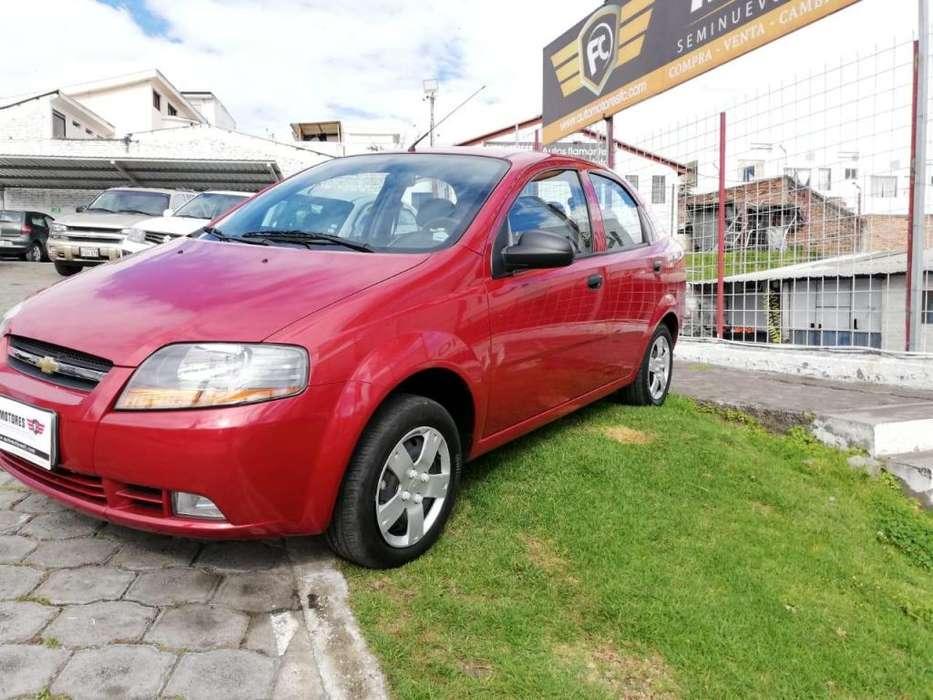 Chevrolet Aveo Family 2018 - 40000 km