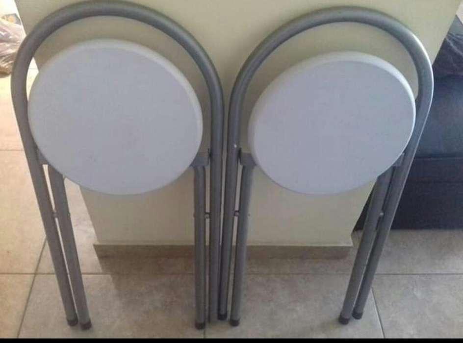 <strong>sillas</strong> de Caño Nuevas Impecables