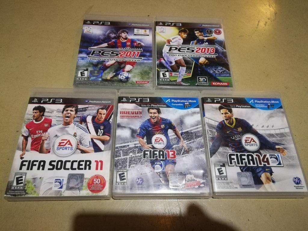 Juegos Ps3 Futbol