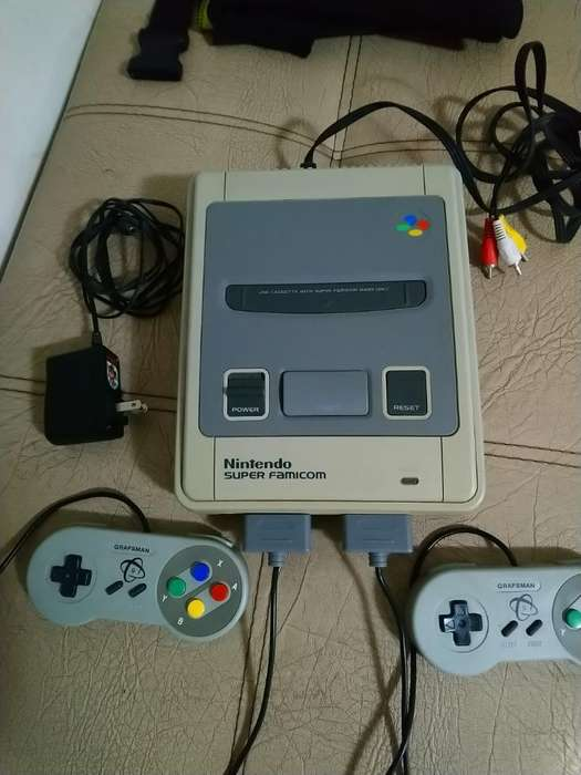 Vendo Super Nintendo