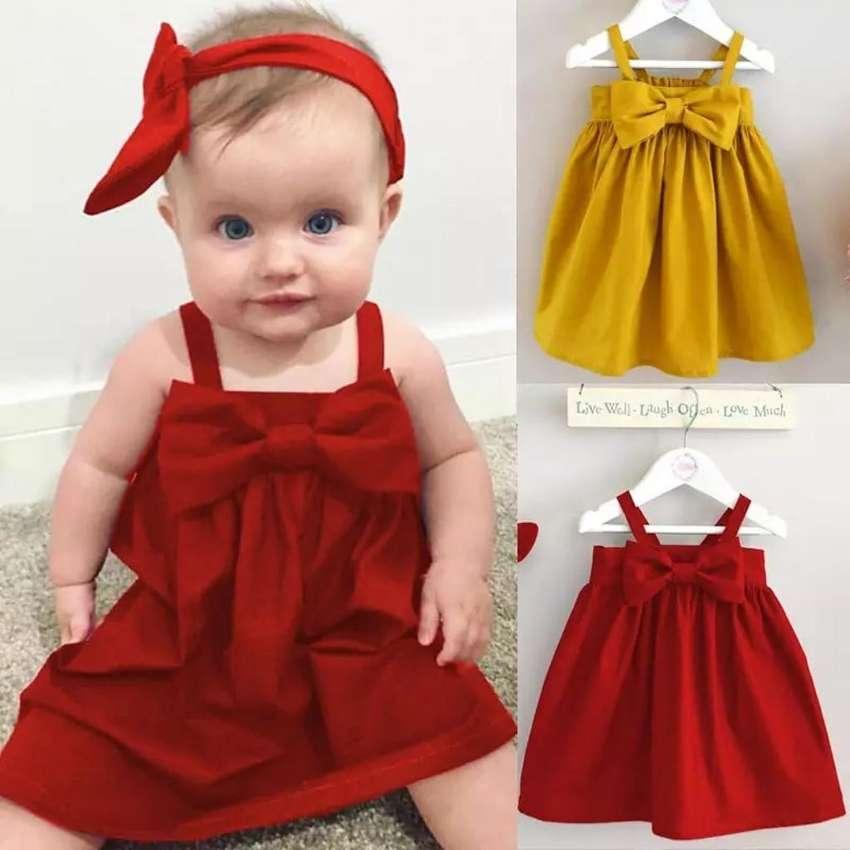Vestido Rojo Para Niñas Ropa 1062751542
