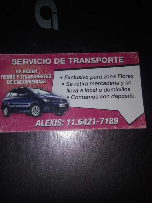 Servicio de Remis Las 24 Hrs Zona Flored