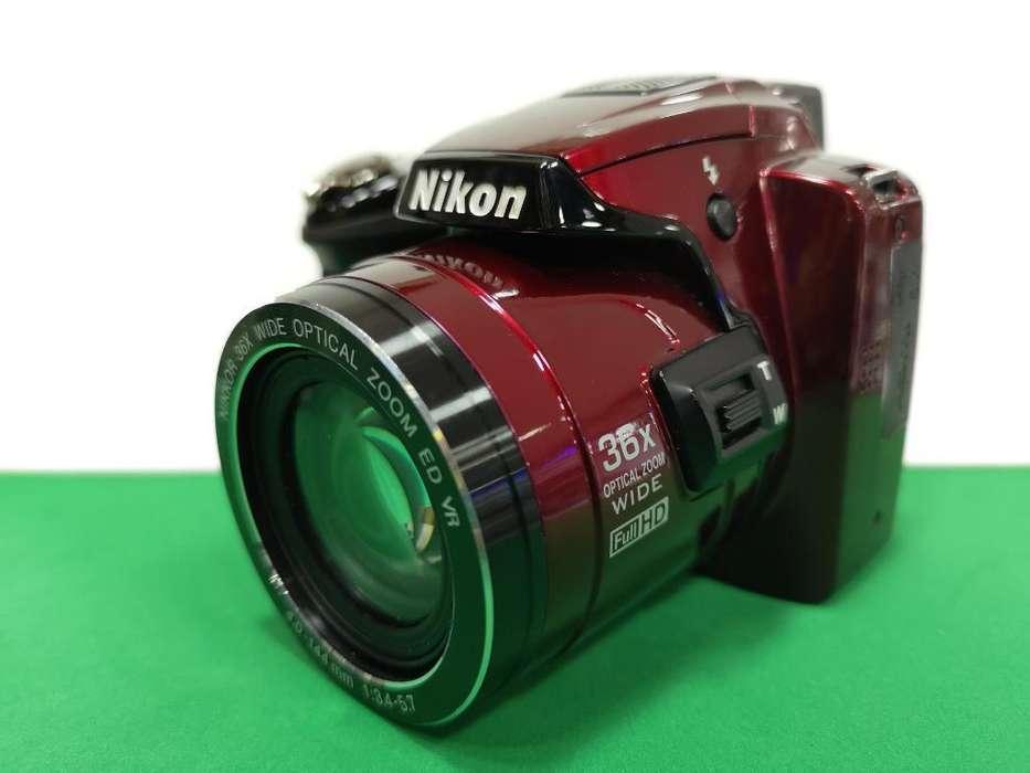 Camara Fotografica Semiprofesional Nikon P500 12.1mp Usada