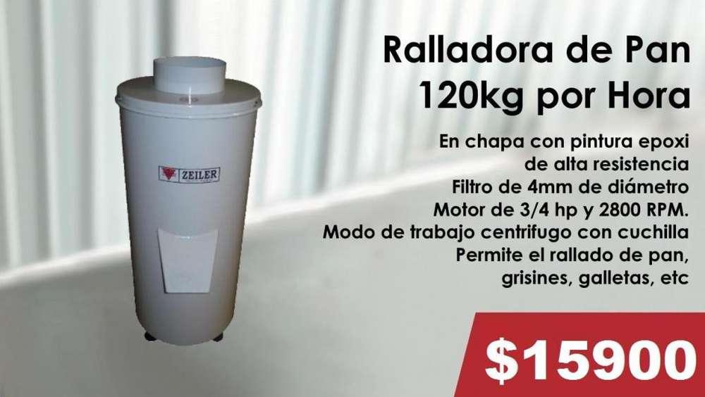 RALLADORA DE 120KG POR HORA