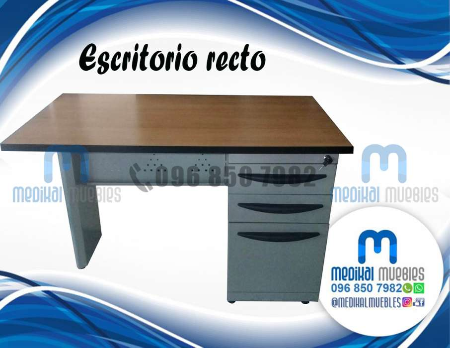 ESCRITORIO RECTO DE OFICINA MESA DE RECEPCIÓN