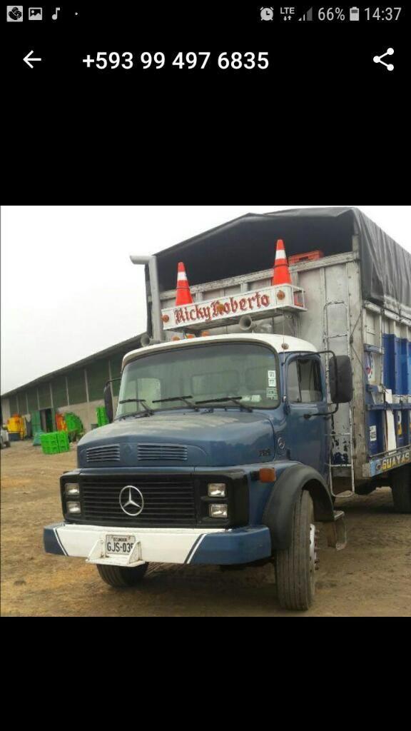 Vendo Camión Mercedes 1319