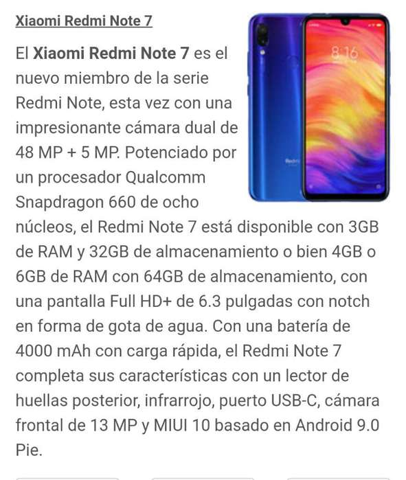 Vendo Redmi Note 7