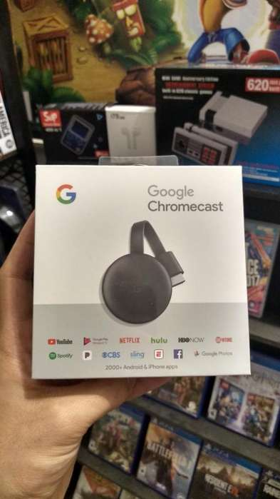 Chromecast 3ra Gen - Tu Tv Smart