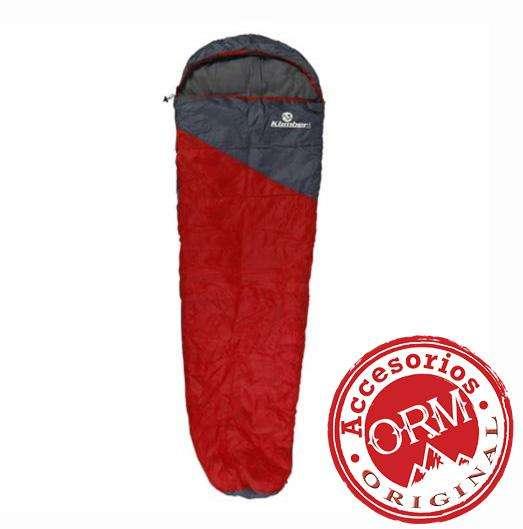 Sleeping Bag Saco Momia Rojo Klimber