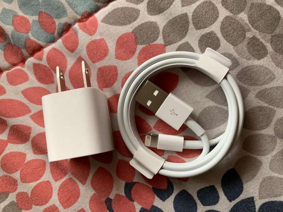 VENDO CABLE IPHONE USB LIGHTNING CUBO CARGADOR ORIGINALES Y NUEVOS