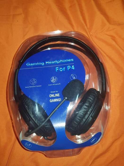 Auriculares Gamers Ps4
