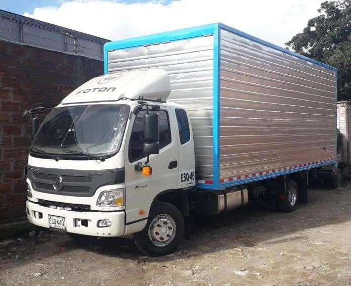 Camión Furgón Foton 2019 usado como nuevo