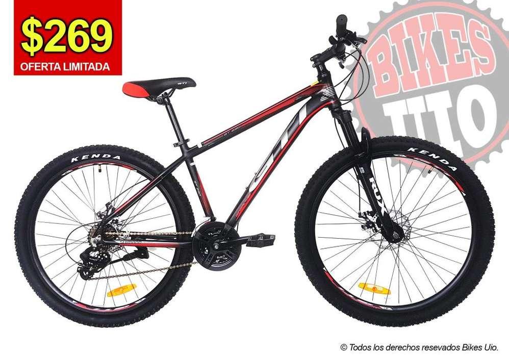 BICICLETA GTI ARO 27.5 ALUMINIO 24V SHIMANO 2019