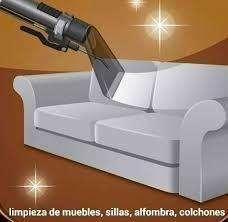 LIMPIEZA Y LAVADO DE MUEBLES COLCHONES SILLAS ALFOMBRAS