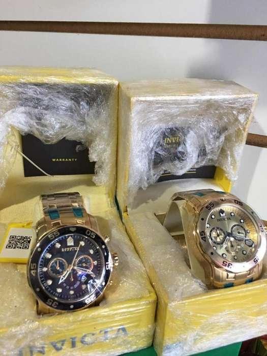 relojes Invicta nuevo y originales