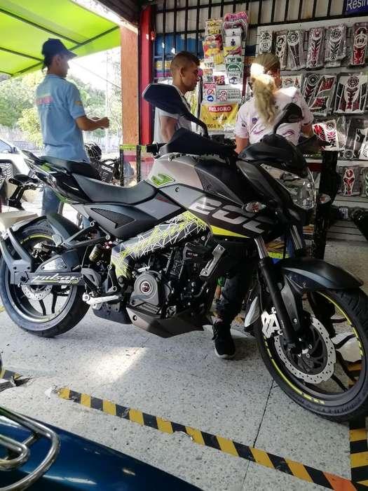 Vendo Moto Pulsa Ns 200
