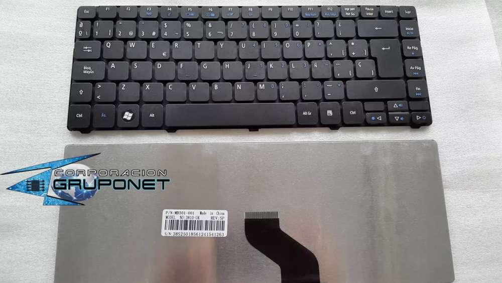 Teclado Acer 3410 3410t 3410g 4410 4410t Nuevos En Español