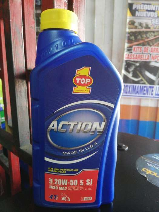 Aceite Top1 Action 20w50 Semi 4t