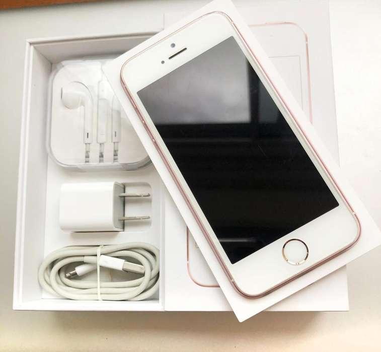 iPhone SE Rosa - Usado perfecto estado 550.000