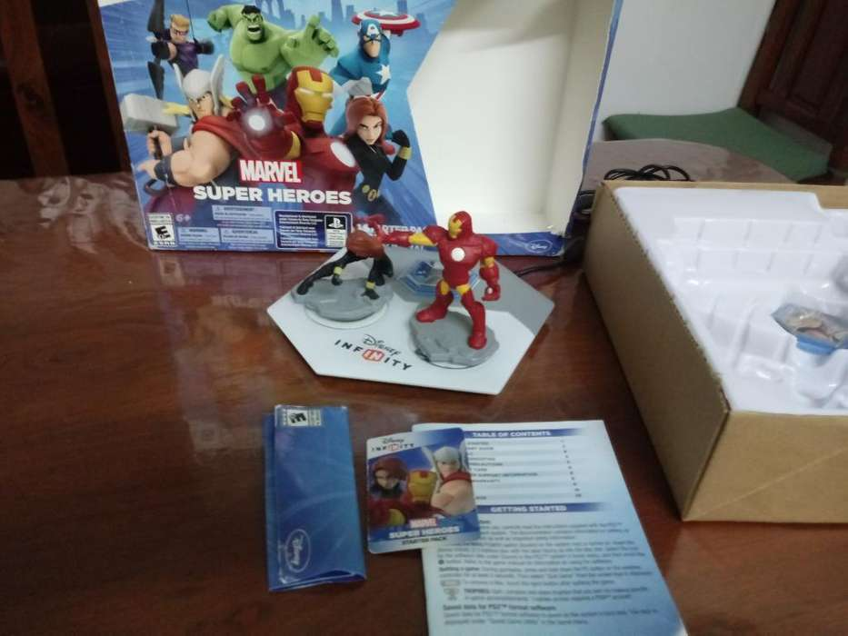Base Infinity 2.0 Marvel Tomo Juegos Ps4