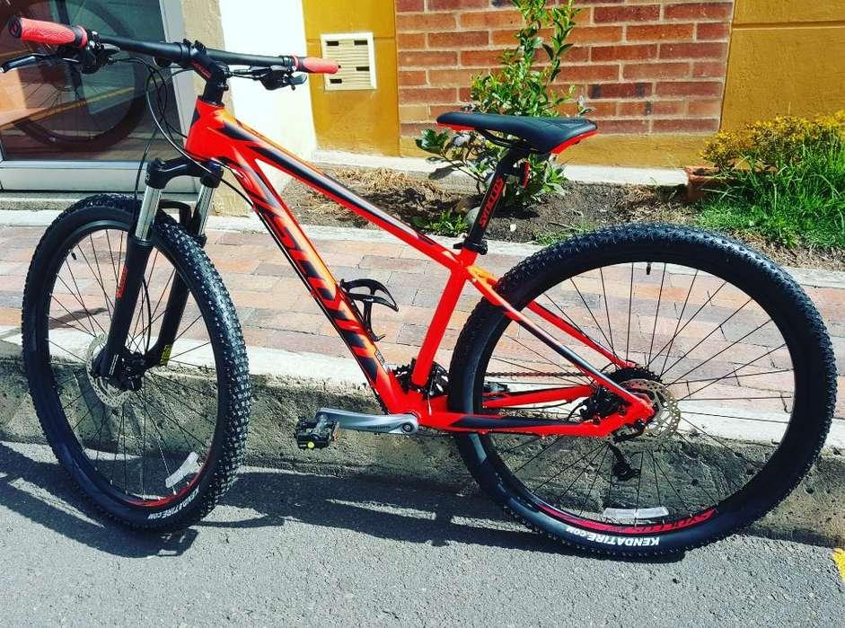 Bicicleta Scott Aspec 940 Poco Uso