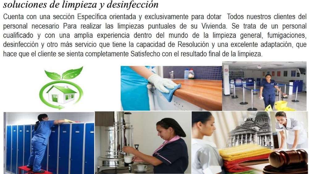 Limpieza General para Empresas Y Mas.