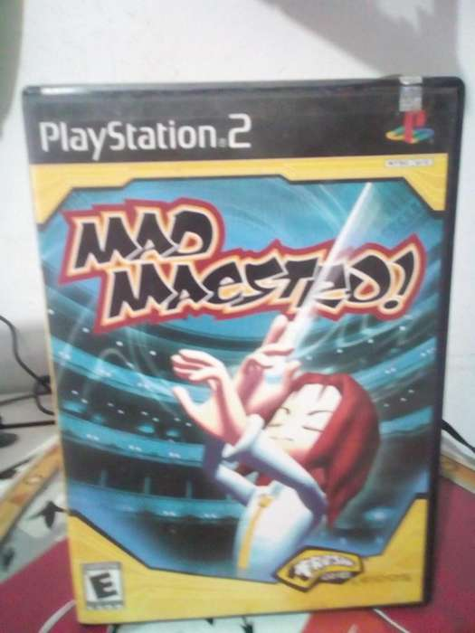 JUEGO MAD MAESTRO PLAY STATION 2