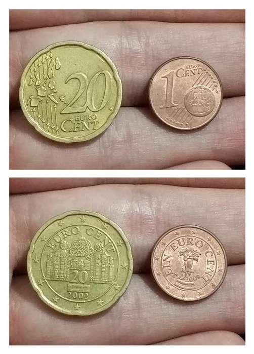 Monedas Austria Euro Cents